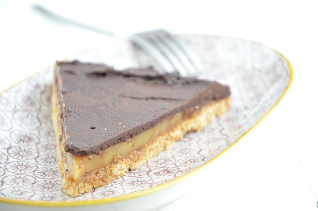 Pastel de chocolate y caramelo 2