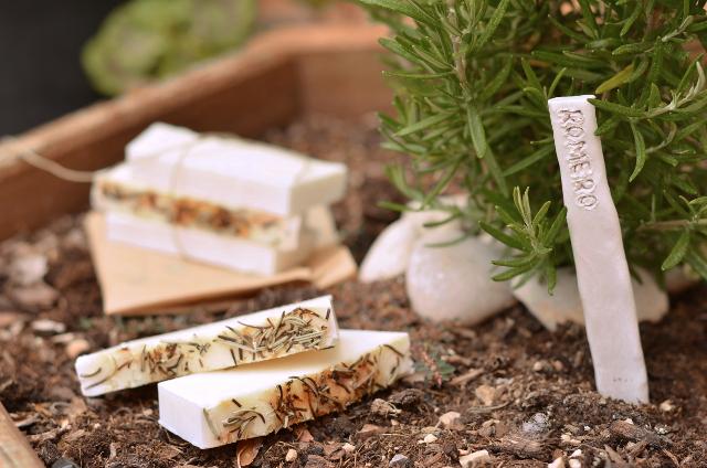 Jabón de aceite de oliva y romero