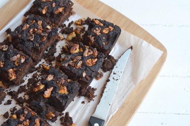 Brownie de alubia negra