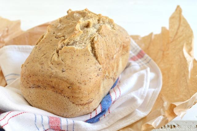 Pan con almidón de patata