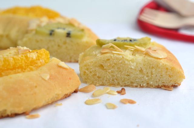 Roscón de Reyes vegano y sin gluten 2