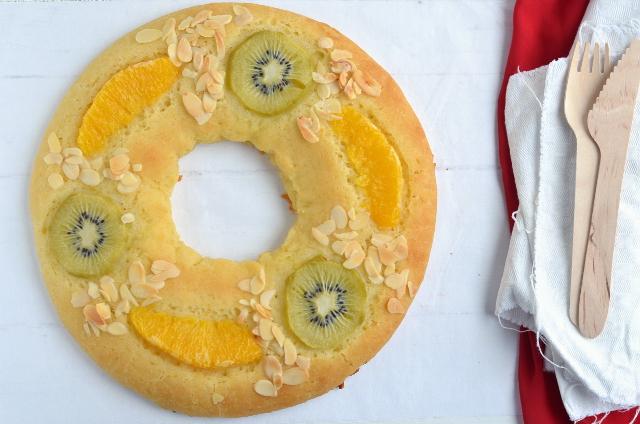 Roscón de Reyes vegano y sin gluten