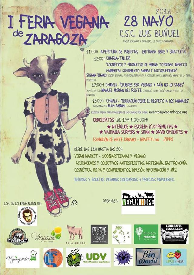 I Feria Vegana Zaragoza