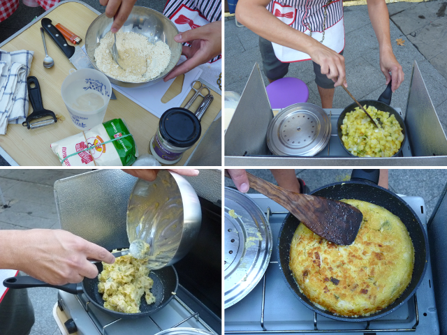 Concurso de tortilla de patata vegana Piztiak 2