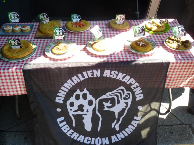 Concurso de tortilla de patata vegana Piztiak 3
