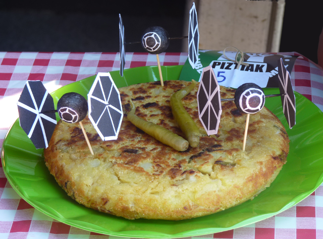 Concurso de tortilla de patata vegana Piztiak 4