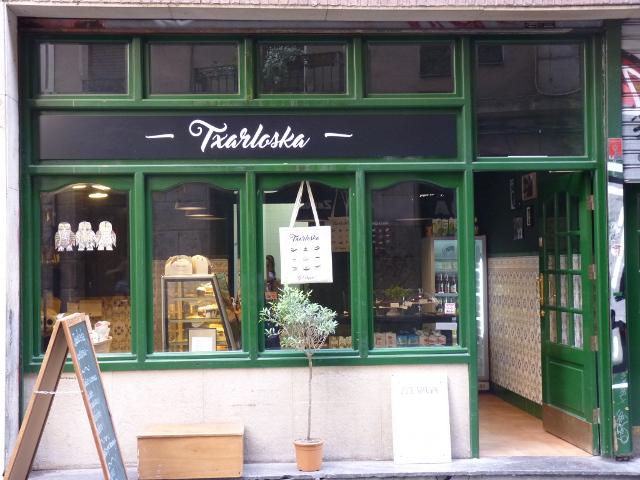 Pastelería vegana Txarloska (Bilbao)